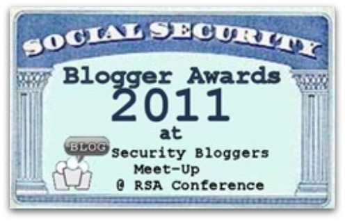 Social Security blogger awards