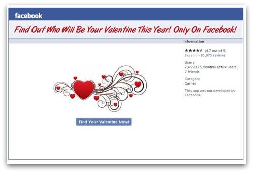 Find Valentine