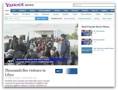 Libya news report video
