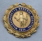 Massachusetts General pin courtesy of nursing pins Flickr photostream