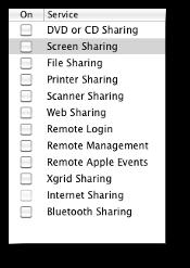 Mac Sharing Preferences
