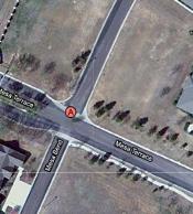 Google Maps satellite view of fake pharmacy