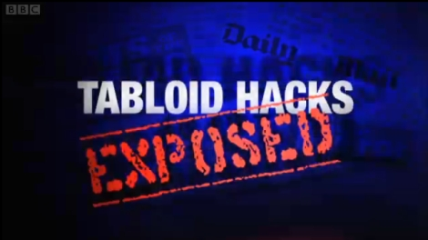 Tabloid Hacks Exposed: BBC Panorama report