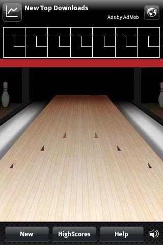Bowling Trojanized application