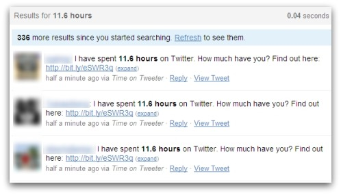 I have spent 11.6 hours on Twitter. How much have you? Find out here
