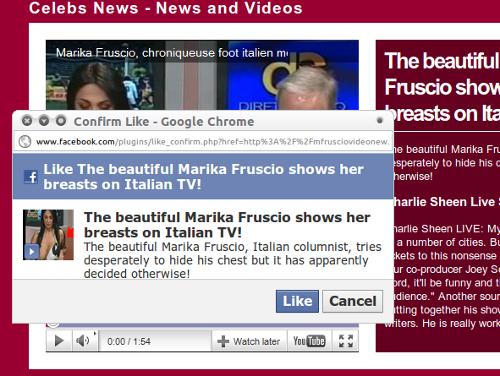 Marika Fruscio likejack