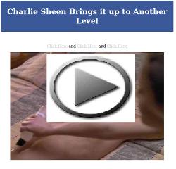 Charlie Sheen sex video scam