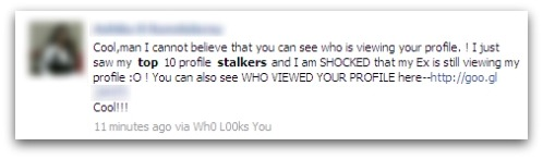 Top 10 profile stalkers - Facebook