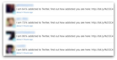I am 64% addicted to Twitter, find out how addicted you are here