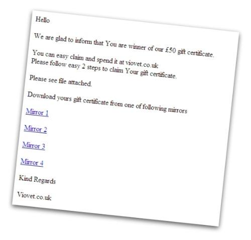 VioVet email