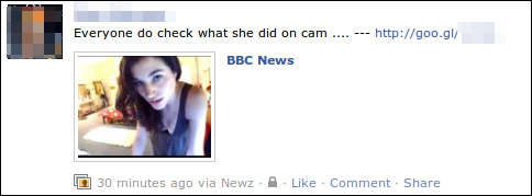 BBC News Facebook scam