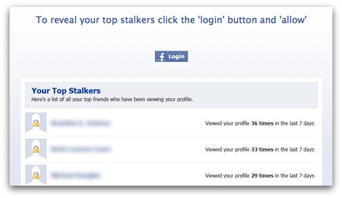 Who are your top stalkers?