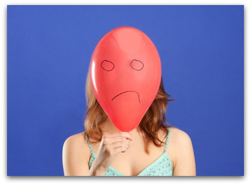Balloon face