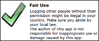 Fair Use statement