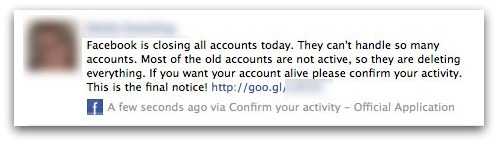 Facebook closing all accounts today