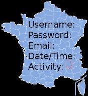 Map of France asking for details