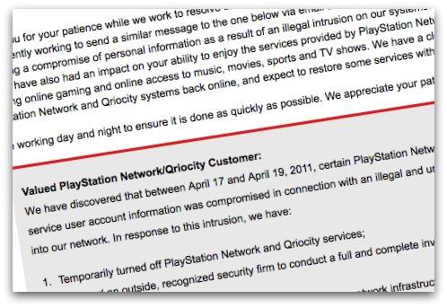 Sony statement