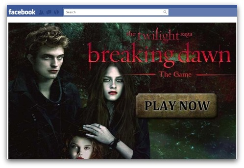 Twilight Breaking Dawn on Facebook