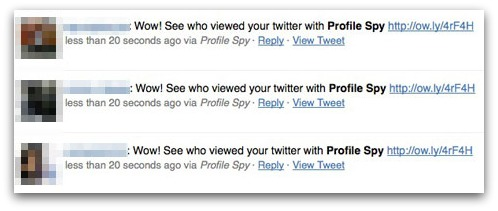 Wow! See who viewed your twitter with Profile Spy