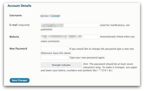 Change your WordPress.com password