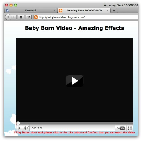 Baby Born Amazing Effect