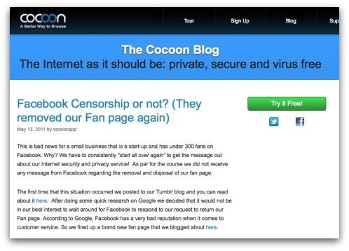 Cocoon blog