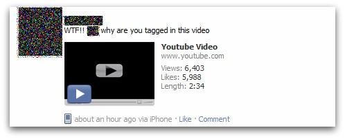 Facebook video scam