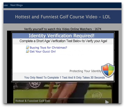 The Hottest & Funniest Golf Course Video survey