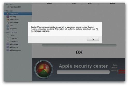 Mac malware attack