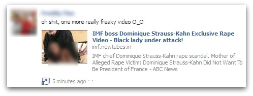 IMF boss Dominique Strauss-Kahn Exclusive Rape Video - Black lady under attack!