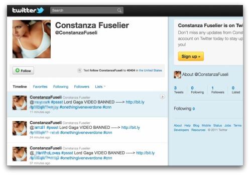 Twitter attack seeder