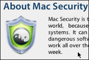 Mac Security malware