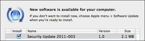 Mac update 2011-003