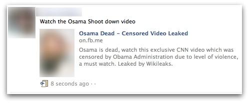 Osama shoot down video