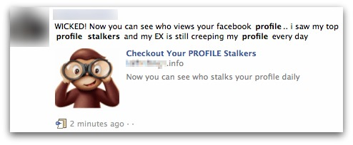 Checkout your Profile Stalkers on Facebook