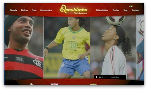 Ronaldinho website