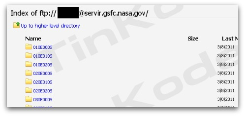 Evidence of NASA hack