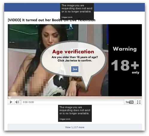 Yeahh!! It happens on Live Television! Marika Fruscio Facebook scam