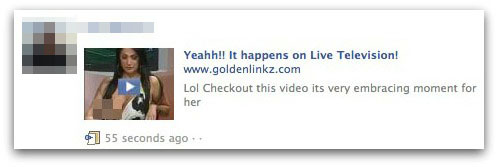 Yeahh!! It happens on Live Television!