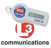 L-3 and RSA SecurID token