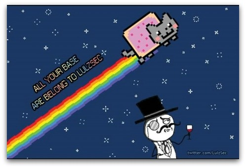 LulzSec Twitter wallpaper