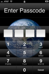Passcode entry