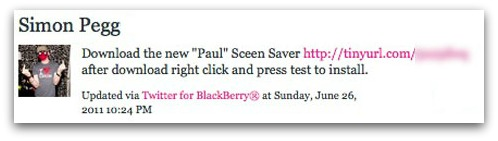 Download the new Paul Sceen Saver [LINK] after download right click and press test to install.