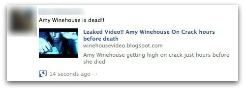 Amy Winehouse is dead!!