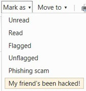 My friend has been hacked!