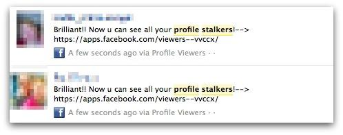 Profile stalkers on Facebook