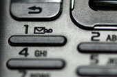 Voicemail button