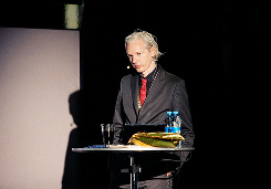 Creative Commons image of Julian Assange courtesy of New Media Days' Flickr photostream