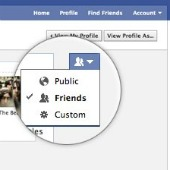 Facebook privacy setting