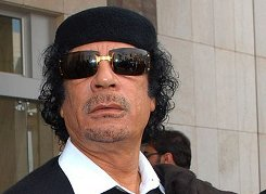 Creative Commons photo of Gaddafi courtesy of James Gordon